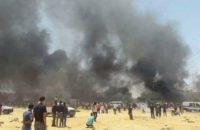 Tunus: Halk, Karakolu Ateşe Verdi