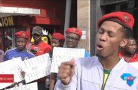 Güney Afrika: EFF Öğrencileri Marketi Bloke Etti