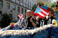 ABD: 36 Yıl Sonra Özgürlüğüne Kavuşan Oscar Lopez Porto Riko Günü Yürüyüşüne Katıldı