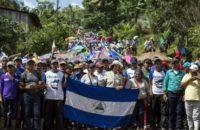 Nikaragua: Bianca Jagger Çiftçilerle Birlikte Kanal Projesine Karşı Eylem Yaptı