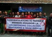 Malezya: Shangri-La İşçileri 13 yıllık Mücadele Sonunda Toplu Sözleşme Hakkını Kazandılar