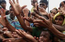 Sri Lanka'da Tamiller ve Müslümanlar Rohingya (Arakan) İçin Yürüdü