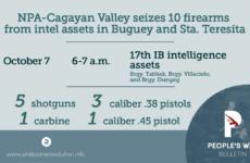Filipinler: FKP-YHO Çokuluslu Tekellere Ait İki Büyük Çiftliğe Baskın Düzenledi