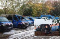 Fransa: Enerji Şirketine Ait 20 Araç Ateşe Verildi