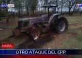 Paraguay: EPP İşgalcilerin Traktörlerini Ateşe Verdi