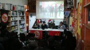Fransa: FRAP, ABD'deki Anti-faşist Mücadele Başlıklı Toplantı Başarıyla Gerçekleştirildi
