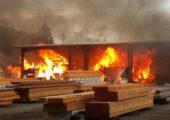 Hindistan: HKP (Maoist) Devrim Vergisi Ödemeyen Fabrikayı Ateşe Verdi