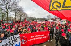 Almanya: Stuttgart'ta Metal İşçilerinden 'Uyarı Grevi'