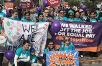 Avustralya: Çoğu Kadın Eğitimciler Eşit Ücret İçin Greve Çıktı [Foto Haber]