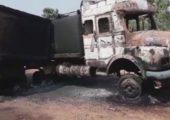 Hindistan: HKP(Maoist) 10 Adet İş Makinasını İmha Etti