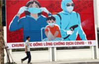COVİD-19 İle Savaş!, Hanoi'de Bilboard