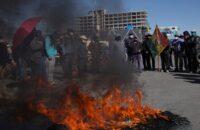 Bolivya: Genel Direniş Sürüyor, Otobanlar Kapatıldı