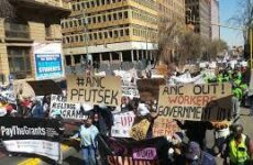 Güney Afrika: C-19 Halk Koalisyonu Ülke Çapında Eylemler Düzenledi