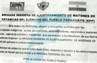 Paraguay: EPP Eski Başkan Yardımcısını Tutsak Aldı, Hapisteki Liderleri İle Takas Önerdi