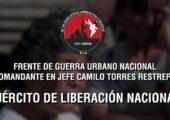 Kolombiya: ELN Kent Savaşı Cephesi'nden Bakana Cevap