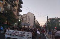 Yunanistan: Midilli'de Mülteciler, Atina'da Halk Yürüdü