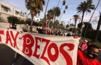 ABD: Amazon İşçileri Jeff Bezos'un Malikanesine Yürüdü