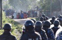 Arjantin: Evsizler Binlerce Polisin Katıldığı Yıkıma Direndiler