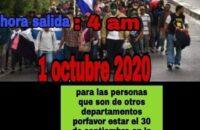 Honduras: Göçmen Karavanı ABD'ye Doğru Yeniden Yola Çıktı [Foto Haber]