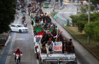 Kolombiya: Minga Yerlileri Başkentte [Fotohaber]