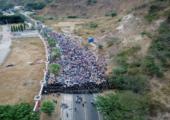 Honduraslı Göçmenlerin ABD'ye Yolculuğu[Fotohaber]