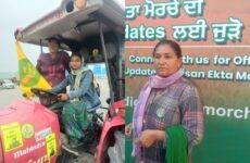 Hindistan: Kadın Çiftçiler Eylemde Ön Saflarda